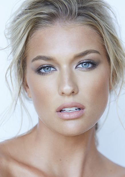 Blue eyes – hair + makeup by Julie Lam // photo by Kevin White