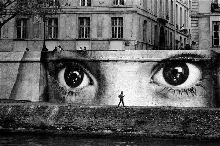 JR Street Art Paris
