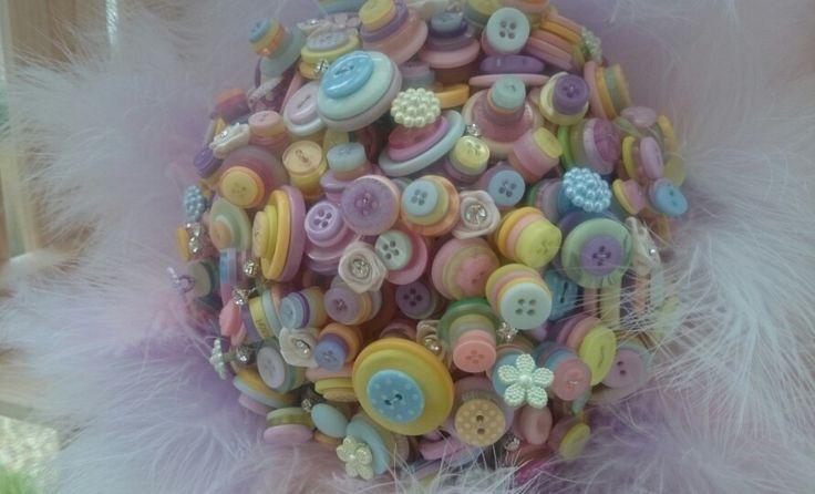 Brides button bouquet