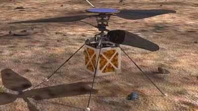 """NASA quer construir um drone helicóptero para enviar a Marte- #CMistériosBlog  .Quando seu rover itinerante Marte não pode obter informações com rapidez suficiente, o que você faz? Obter um drone helicóptero até lá, claro.  Laboratório de Propulsão a Jato da Nasa (JPL) está olhando para fazer exatamente isso, como eles pesquisam maneiras de enviar um """"Mars Helicopter"""" para o planeta vermelho."""