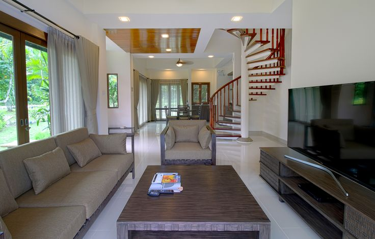 Banyu Biru Villa, 2 Bedrooms Belantara Living Room