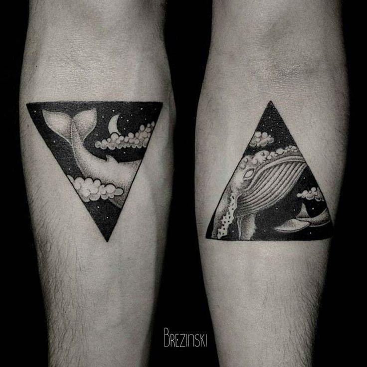 Pontilhismo e tatuagens impressionantes de Brezinski Ilya