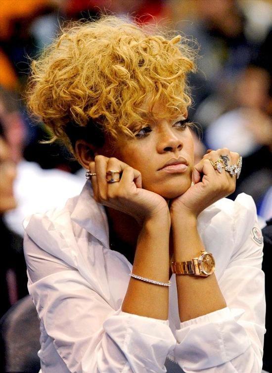 Rihanna Wears A Rolex Day Date President Watch Celebrity