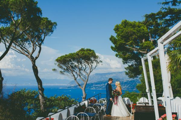 Vibrant Capri Elopement at Villa Damecuta