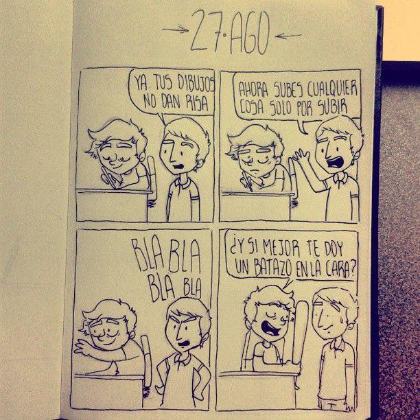27 AGO - Daily Comic - y si mejor… #dailycomic #comics #comic #sketchbook #sketch #fun #doodle #elbocetoaleatorio