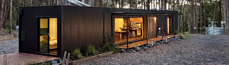 25 best ideas about prefab cabins on pinterest small for Prefab screen porch
