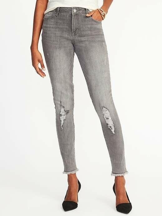 Old Navy Black rip jeans Under $50 jeans