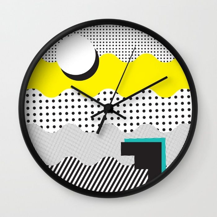 SHAPE SHIFTER Wall Clock by J3 Productions
