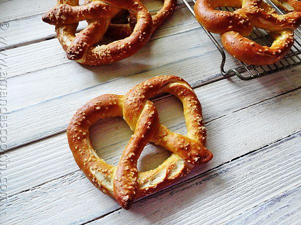 Homemade German Pretzel recipe - great with Passport Germany!