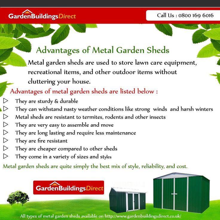 Buy Garden Sheds, Log Cabins, Summerhouses, Playhouses, Greenhouses and Cheap Sheds. Low Prices and Free Delivery from Garden Buildings Direct  UK Log on http://www.gardenbuildingsdirect.co.uk/