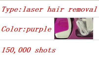 Pas cher 2015 nouveau Laser épilateur cheveux couleur pourpre Permanent épilation périphérique 150000 impulsions, Acheter  Epilateur de qualité directement des fournisseurs de Chine:       2015 nouveau Laser cheveux épilateur violet couleur épilation permanente dispositif 150000 impulsions           &