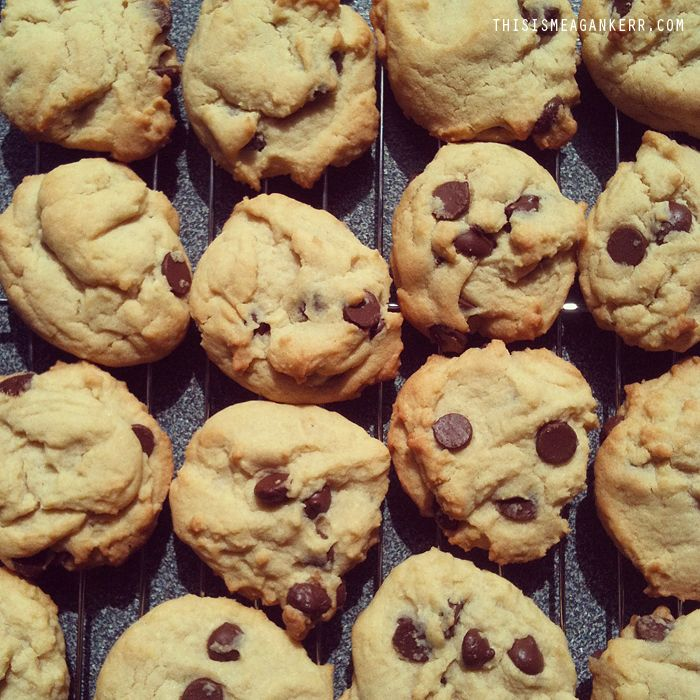 The most amazing Chocolate Chip cookies... ever!