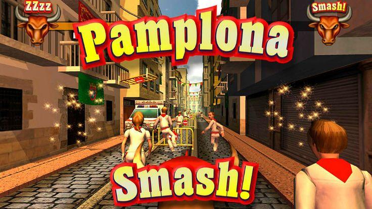Pamplona Smash, si te gustan los San Fermines, este es tu juego, aquí tú eres el toro.