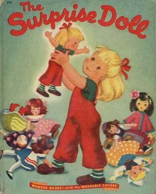 """The Surprise Doll""  Little Golden Book. Recycled Book Journal. Just $14. All Golden Books include the entire text included with the finished journal. Also? Bonus!!! I will, upon request, make a video of me reading ANY golden book to you and post said video to YouTube. Just make a note in checkout page. Here's a link to the Golden Book section of our website: http://bookjournals.com/journals/little-golden-books Or, you know, just click on this image. Love, Jacob"