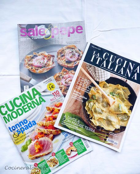 revues culinaires italiennes ©cocineraloca.fr