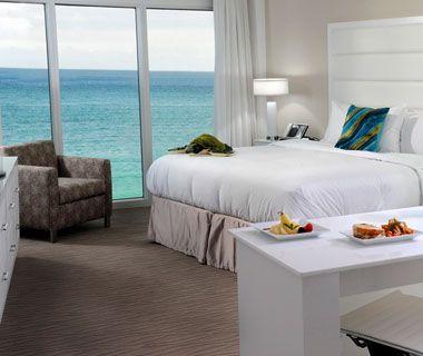 B Ocean, Fort Lauderdale, FL  bhotelsandresorts.com    Travel + Leisure Best Affordable Beach Resorts