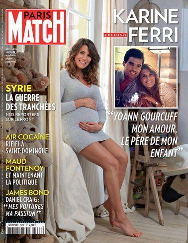 Karine Ferri, un bébé pour demain. Notre couverture cette semaine