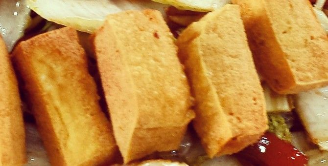 Mix Vegetables with Deep Fried Tofu