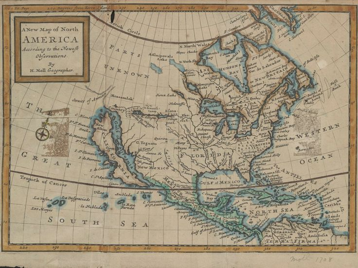 18 Maps From When the World Thought California Was an Island | A page from an English atlas published in 1741. GLEN MCLAUGHLIN MAP COLLECTION / STANFORD UNIVERSITY  | WIRED.com