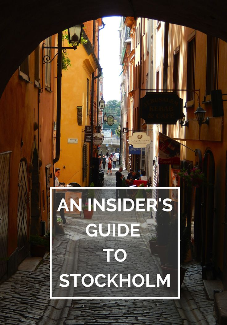An Insider's Guide to Stockholm (& other places of interest) on The Travel Hack