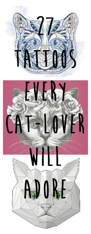 1000 ideas about geometric cat tattoo on pinterest geometric cat cat tattoos and tattoos cat lovers 27 diy
