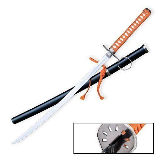 Bleach Anime Sword - Tousen Kaname Suzumushi Katana Steel Sword by KA Yogawear. $35.99. Bleach Anime Sword - Tousen Kaname Suzumushi Katana Steel Sword