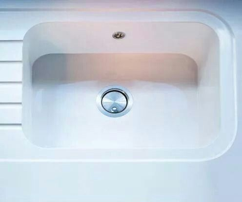 Silestone integrity sink in blanco zeus very nice for Silestone kitchen sinks