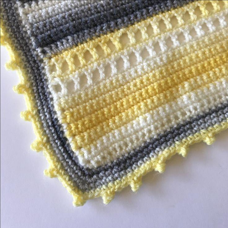 Micah's Ladder Baby Blanket (Free Pattern) – Stitch Me In