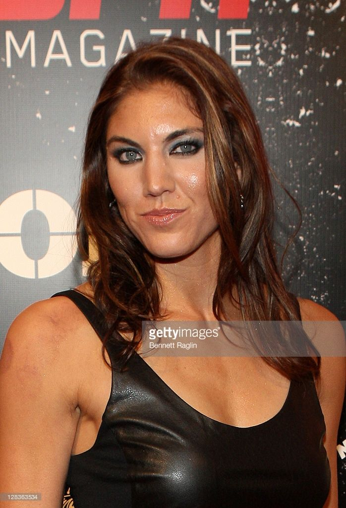 Hope Solo attends ESPN the Magazine's 3rd annual Body Issue party at Highline Stages on October 6, 2011 in New York City.