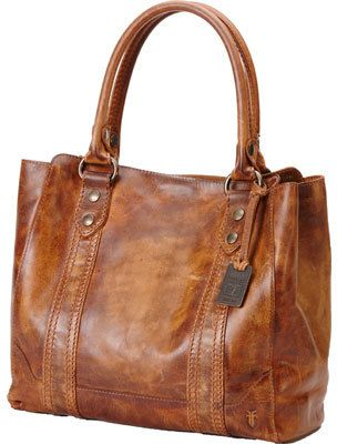 Women's Frye Melissa Tote - Cognac Tote Handbags