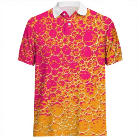 Shop Funky Dinosaur HEAT Polo Shirt by GrandeDuc | Print All Over Me