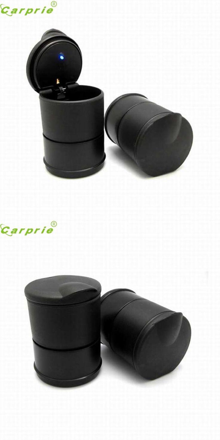 [Visit to Buy] CARPRIE LED Portable Car Truck Auto Office Cigarette Ashtray Holder Cup Black Jul.14 #Advertisement