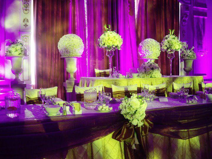 Head Table  Sonia Denny Events