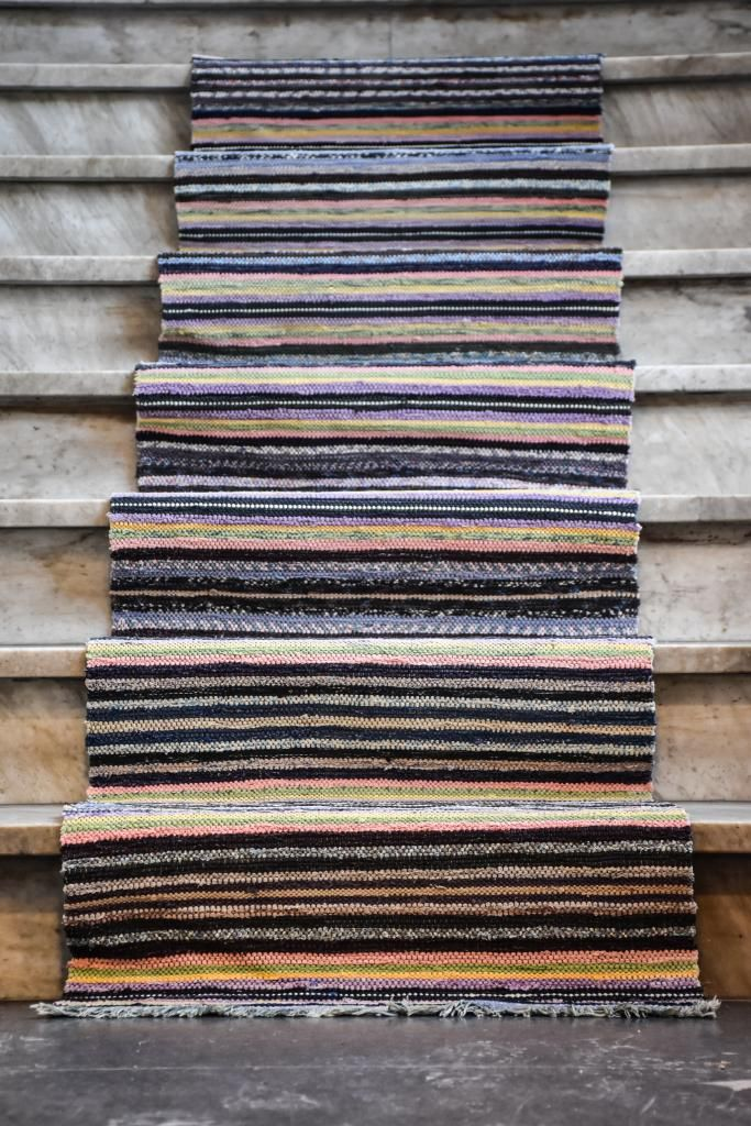Swedish vintage rag rug 0824 - Rugs of Sweden