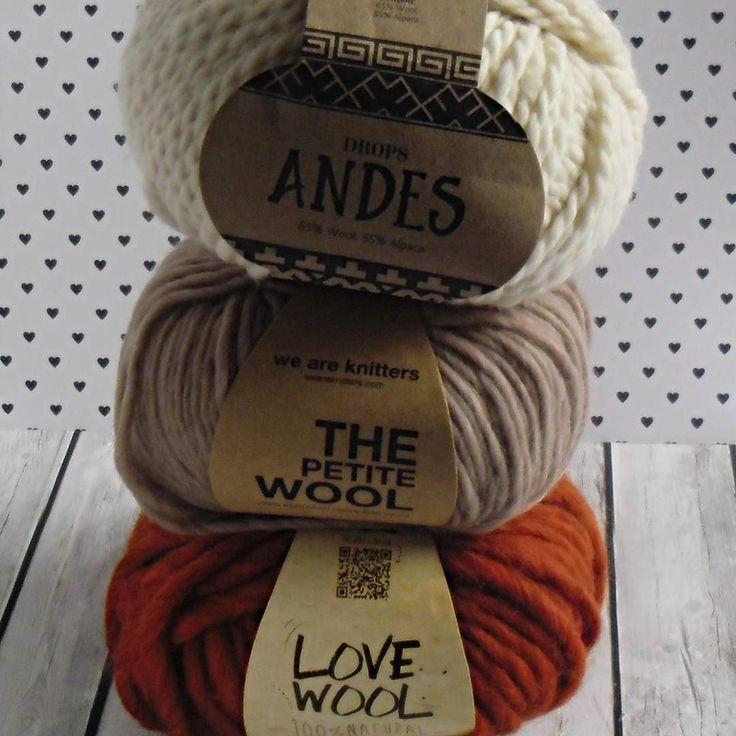 #jesień #autumn #cozyautumn #włóczka #yarn #yarnaddict #knitting #knittstagram #weareknitters #thepetitewool #wool #andes #dropsandes #drops #alpaca #alpacawool #katia #lovewool