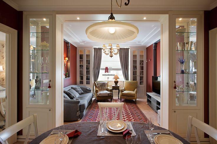 Интерьер квартиры в стиле неоклассика