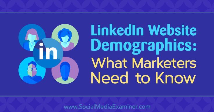 LinkedIn Website Demographics: What Marketers Need to Know https://www.socialmediaexaminer.com/linkedin-website-demographics-what-marketers-need-to-know?utm_source=rss&utm_medium=Friendly Connect&utm_campaign=RSS @smexaminer