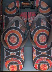 Aboriginal design Thongs $10.00 SPECIAL 2 for $16.00