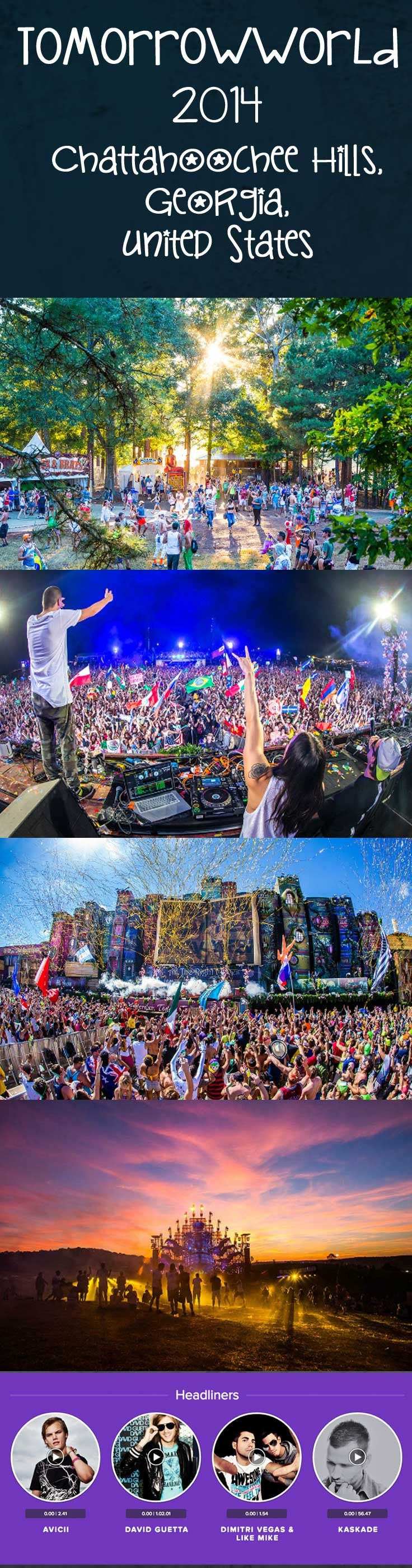 TomorrowWorld 2014 - Across eight stages, electronic-lovers will find everything from trance and techno to minimal and the more experimental, plus everything in between. #highlife #420 #lifeistravel