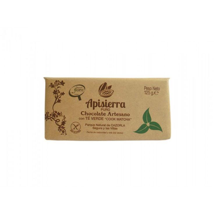 "Comprar TABLETA DE CHOCOLATE CON TÉ VERDE ""COOK MATCHA"" 125 G  #dulces #chocolate #tableta #cookmatcha #artesano #artesanal #Cazorla"