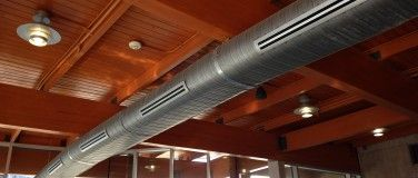 Exposed Rectangular Ductwork Google Search Exposed A C