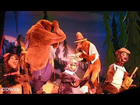 The Country Bear Jamboree at Walt Disney World's Magic Kingdom! (in HD) - looks way better than all my old vacation videos