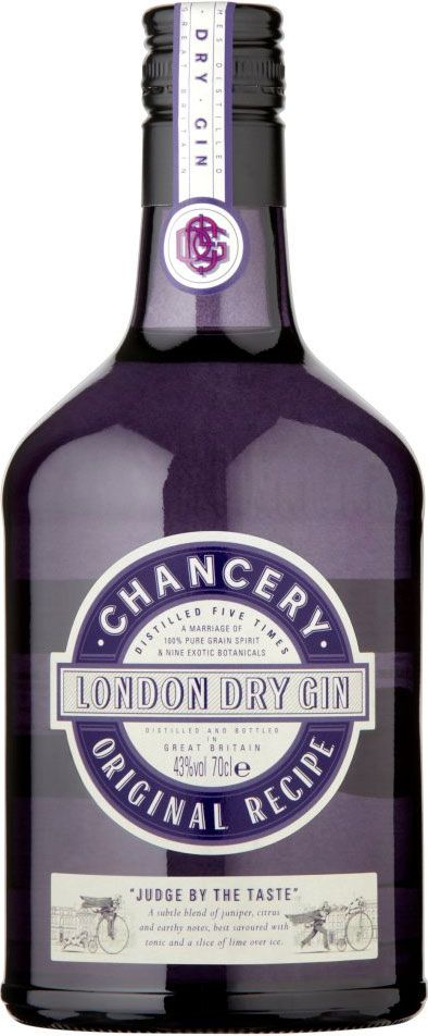 Chancery London Dry gin PD