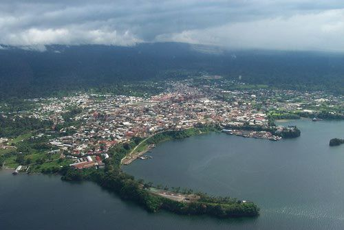 Malabo, Equatorial Guinea's capital city, West Africa