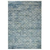 Found it at Temple & Webster - Florist Blue Digital Print Rug