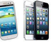 Samsung Galaxy S3 outsells iPhone 5 in UK, say new figures The Samsung Galaxy S3 is outselling the iPhone 5 despite Apple's hugely hyped launch, according to new figures.