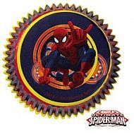 Spiderman baking cups - includes 50 2 in. baking cups.