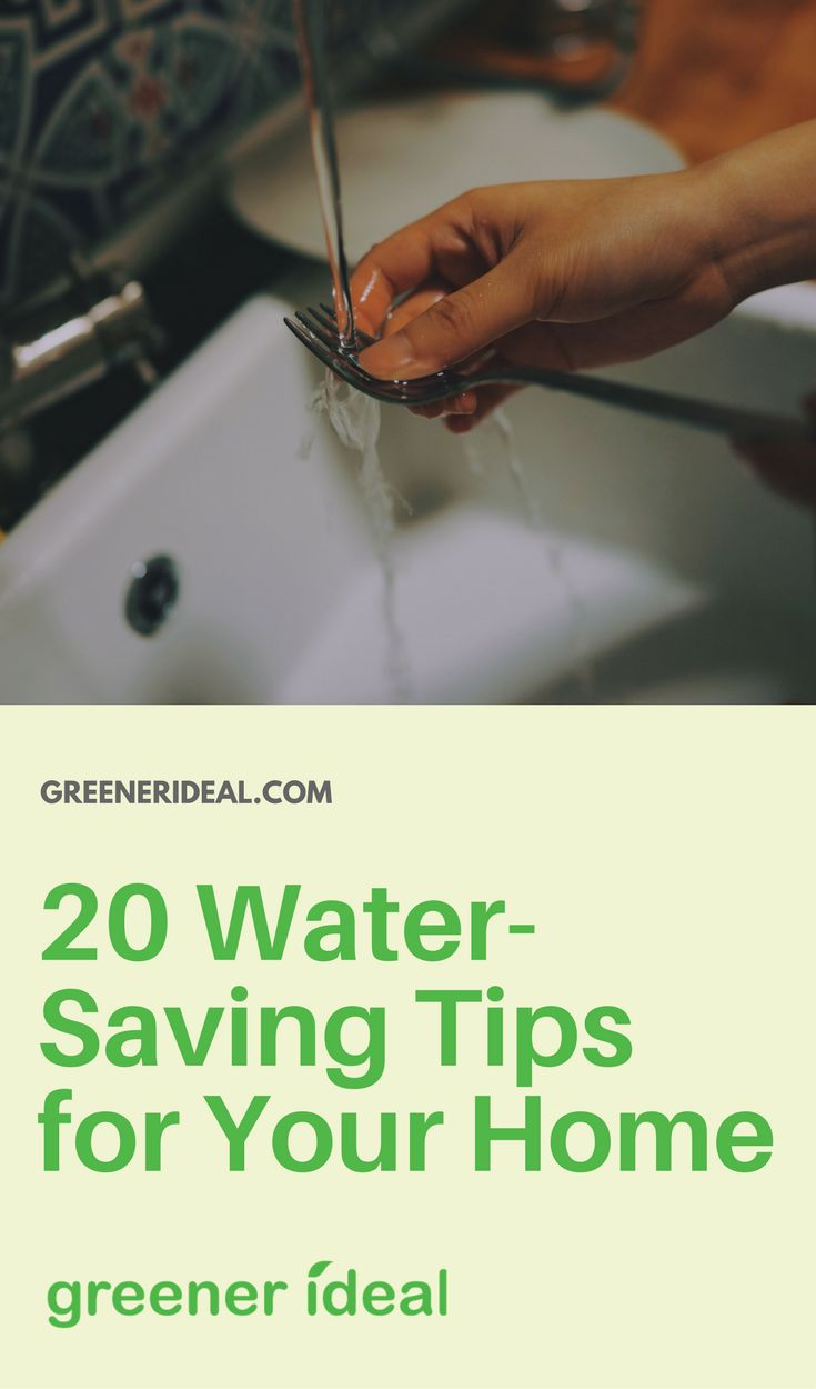 Here are twenty water conservation tips for you that you can implement in your home right away.