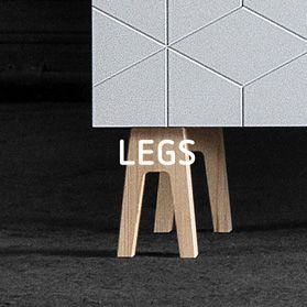 Legs and handles for IKEA furniture. They also have fronts but don't sell them in the USA.