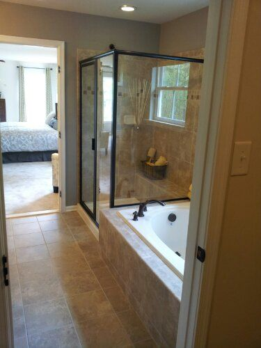 Oil Rubbed Bronze Bathroom option - Ryan Homes, Rome Model